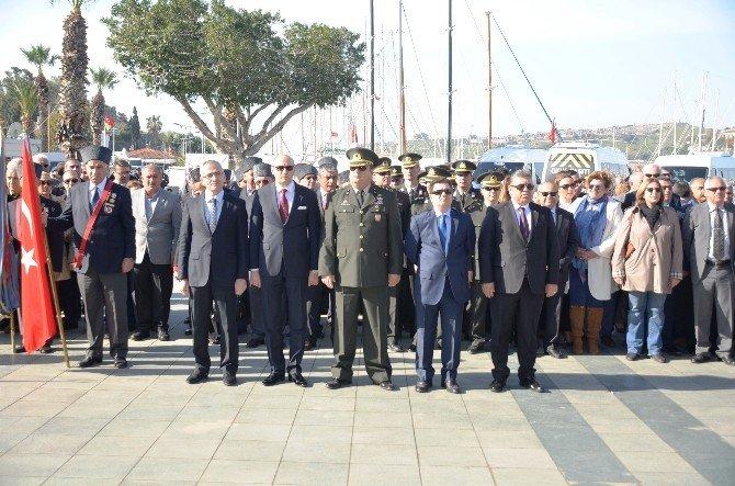 Bodrum'da 18 Mart Çanakkale Şehitlerini Anma Günü Etkinlikleri