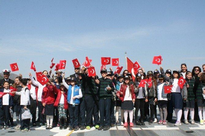 Öğrenciler Zaferin 101. Yıl Dönümünde Tcg Gaziantep'le Sefere Çıktı