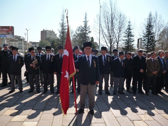 Turhal'da Çanakkale Zaferi Töreni