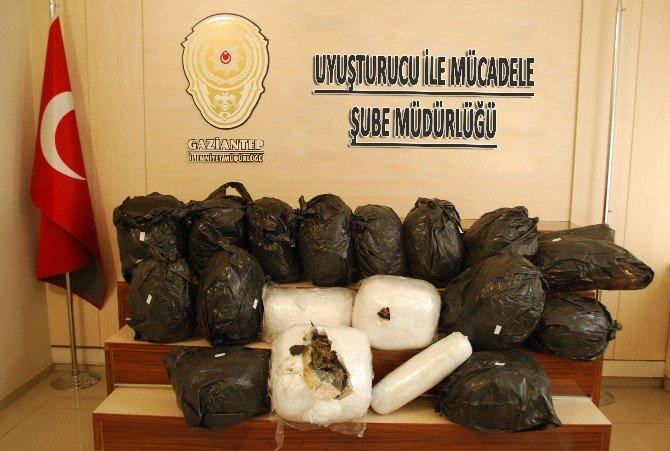 Gaziantep Emniyetinden Uyuşturucu Operasyonu