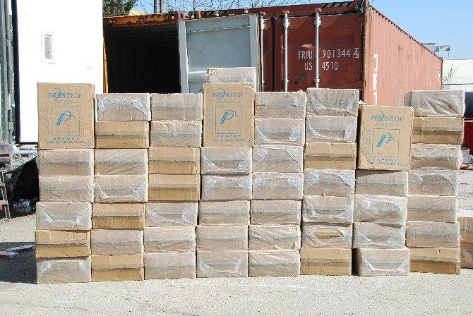 Gaziantep'te 175 Bin Paket Kaçak Sigara Ele Geçirildi