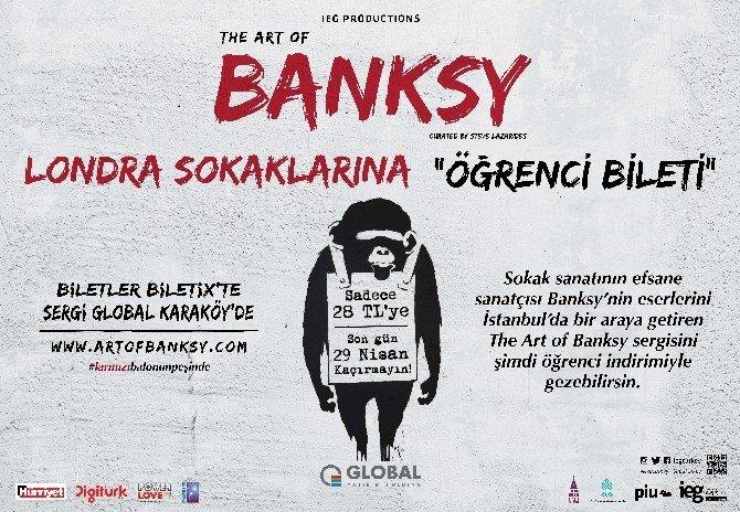 Banksy'nin Dünyasına Yolculuk, Öğrencilere Özel İndirimli