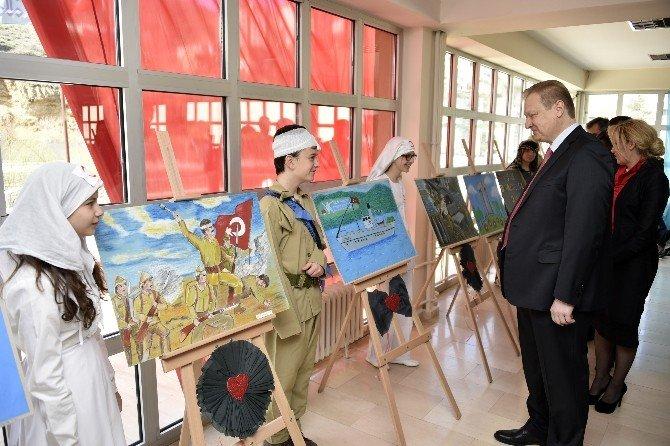 Gümüşhane'de Çanakkale Zaferi Ve Şehitler Günü Etkinlikleri
