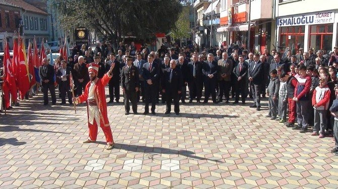 Seyit Onbaşı'nın Memleketinde Mehterli Tören