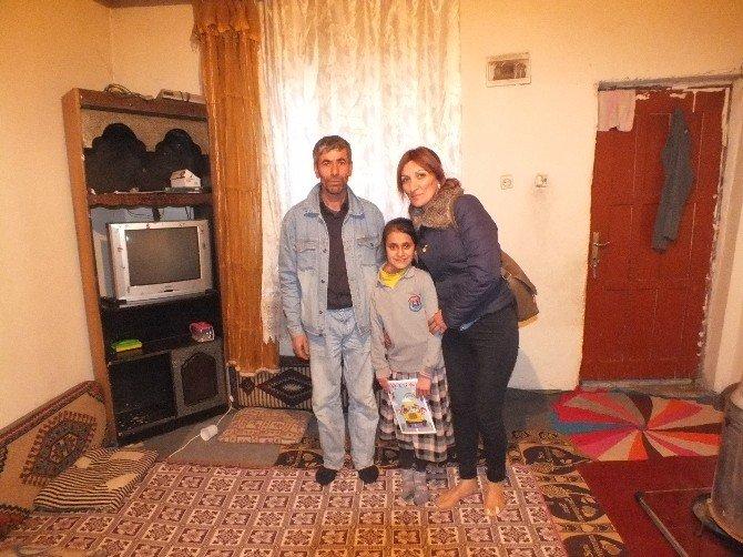 İzmir'den Malazgirtli Arzu'ya Anlamlı Ziyaret