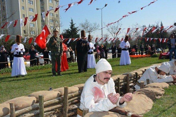 Çanakkale Ruhu, İzmit Kınalı Asker'de Parkında