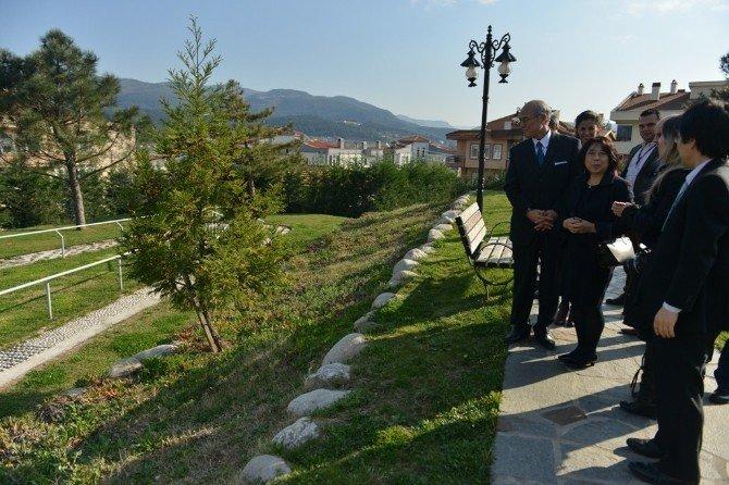 Başkonsolos Ehara Japon Parkı'na Hayran Kaldı