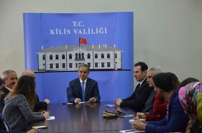 Vali Tapsız, Yeni Atanan Öğretmenleri Kabul Etti