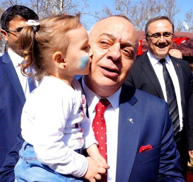 Başkan Ergün, Küçük Simay'a Hayran Oldu