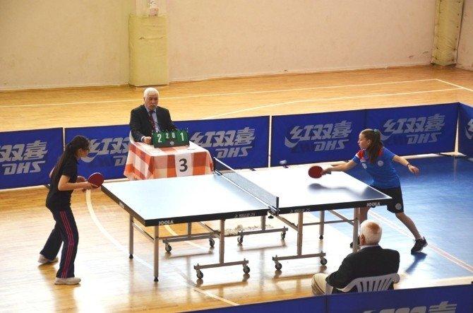 Okul Sporları Masa Tenisi Yıldızlar Grup Birinciliği Müsabakaları Son Buldu