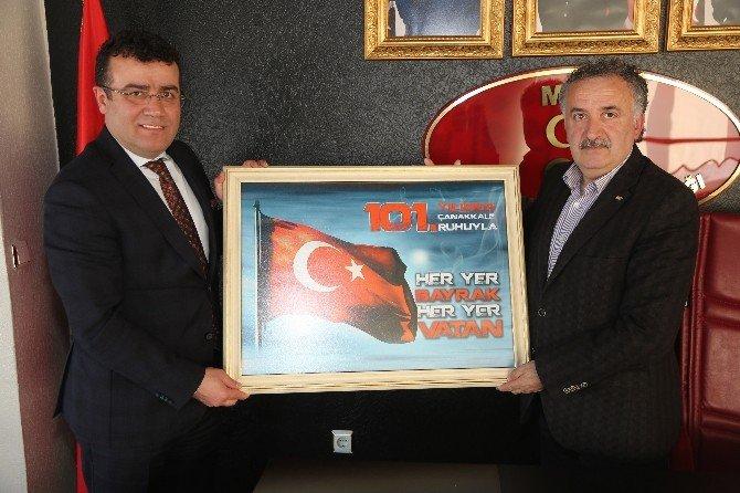 Taşçı'dan MHP'ye Ziyaret