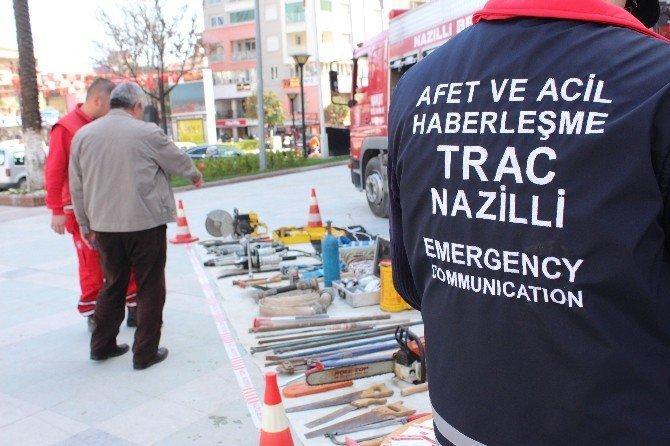 Nakut Deprem Tatbikatı Gerçekleştirdi
