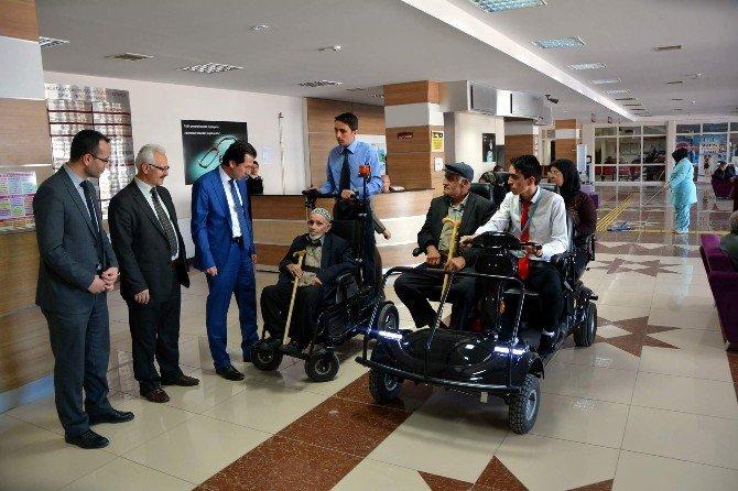 Nevşehir Devlet Hastanesinde Engelli Ve Yaşlı Hastalara Kolaylık Getiren Proje