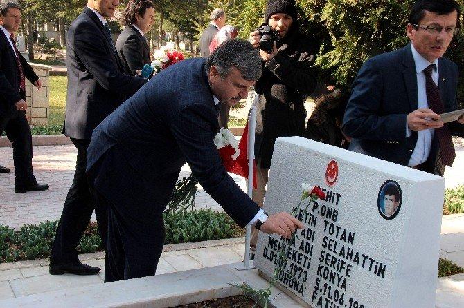 Konya'da Çanakkale Şehitleri 101. Yılında Anıldı