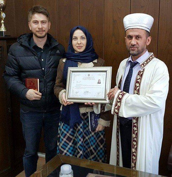 Rus Gelin Müslüman Oldu