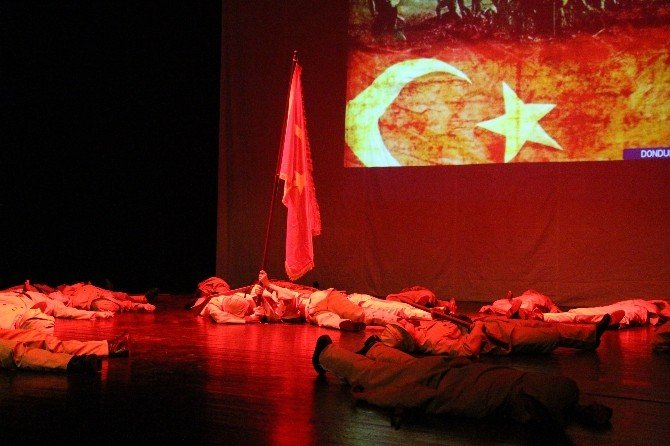 Büyükşehir'den Lirik Dans Gösterisi