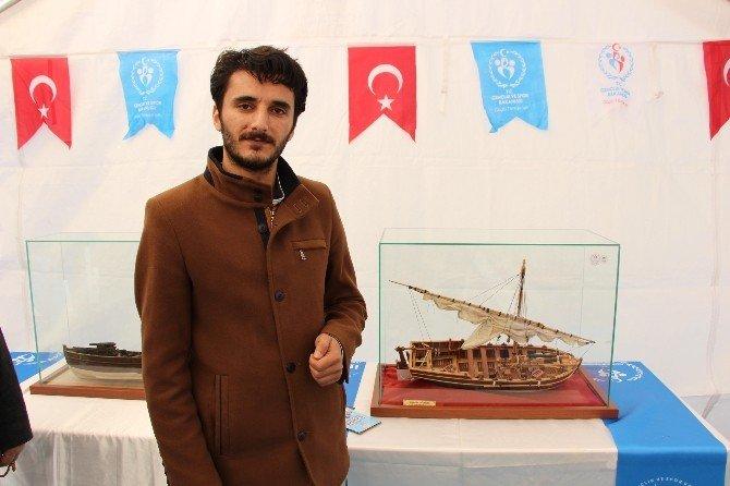 Samsun'da Çanakkale Temalı Model Gemi Ve Resim Sergisi