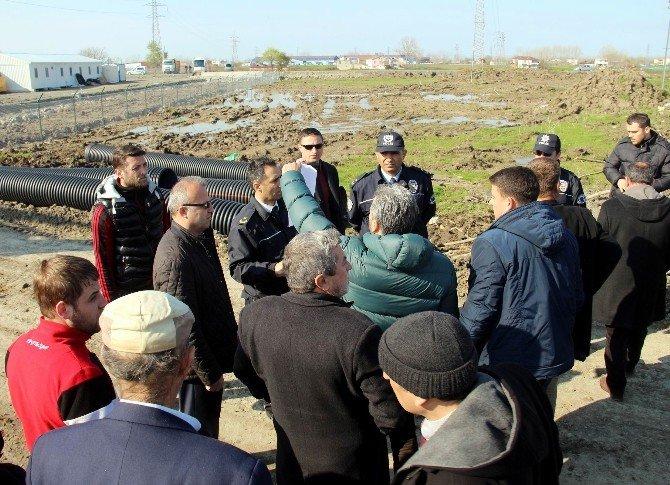 """""""Lojistik Köy"""" Eyleminde 5 Gözaltı"""
