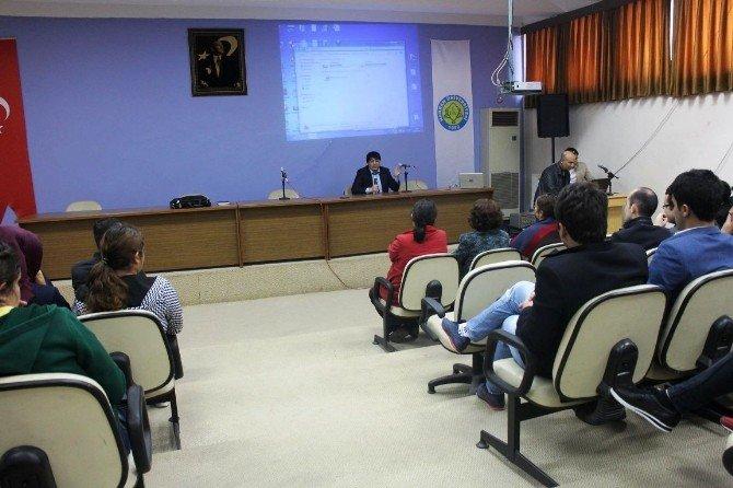 Harran Üniversitesinde İstihdam Ve Çalışma Semineri Verildi