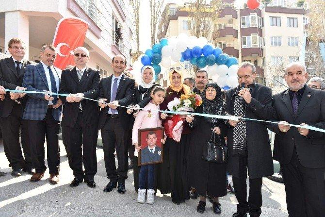 Şehit Polisin Adı Yıldırım'da Yaşayacak