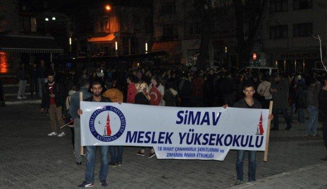 Simav'da Çanakkale Şehitlerini Anma Programı