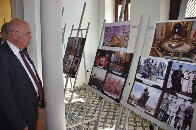 'Atatürk Ve Çanakkale Fotoğraf Sergisi' Tarihi Belediye Binasında Açıldı
