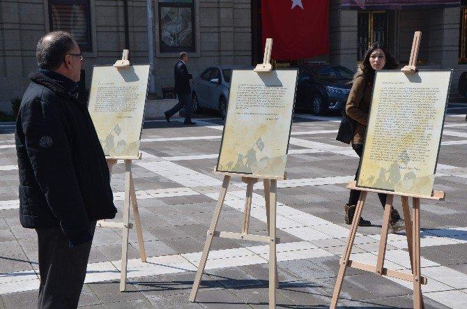 Çanakkale Kahramanlarının Mektupları Valilik Meydanı'nda