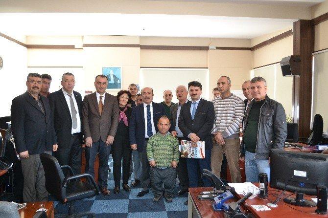 Türk Enerji-sen Genel Başkan Yardımcılarından Bigadiç Ziyareti