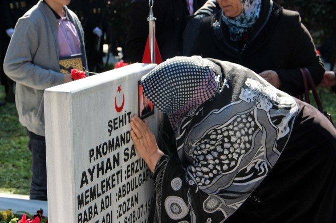 Yalova'da Şehitler Göz Yaşlarıyla Anıldı