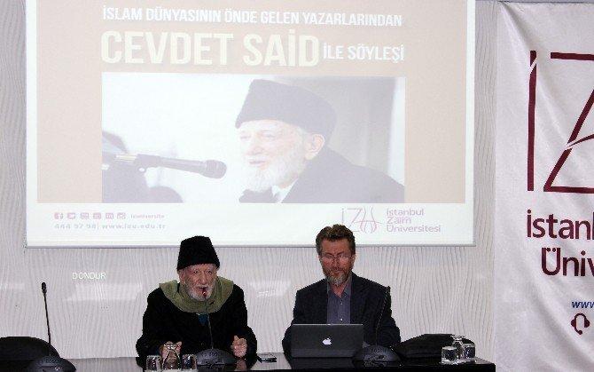 """Cevdet Said: """"Savaşın Ve Şiddetin Dönemi Bitmiştir, Şiddet İnsanların Fıtratına Aykırıdır"""""""