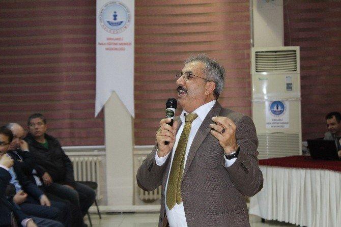 """Kırklareli'nde """"Çanakkale Ve Mehmet Akif"""" Ruhu Anlatıldı"""