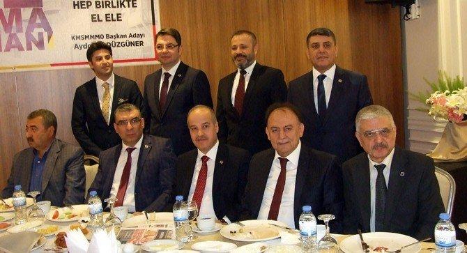 Aydoğan Düzgüner SMMMO'ya Adaylığını Açıkladı