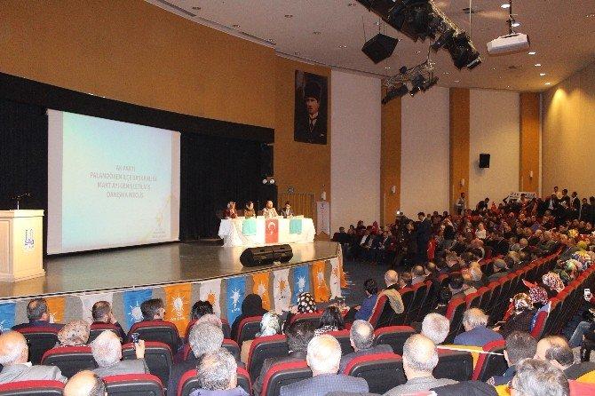 AK Parti Palandöken İlçe Başkanlığı Danışma Meclisi Toplantısı Yapıldı