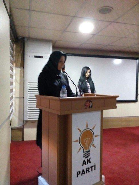 AK Parti Van Kadın Kolları Çanakkale Şehitlerini Andı