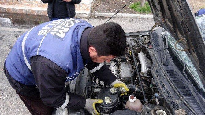Aksaray'da Şüpheli Araç Alarmı