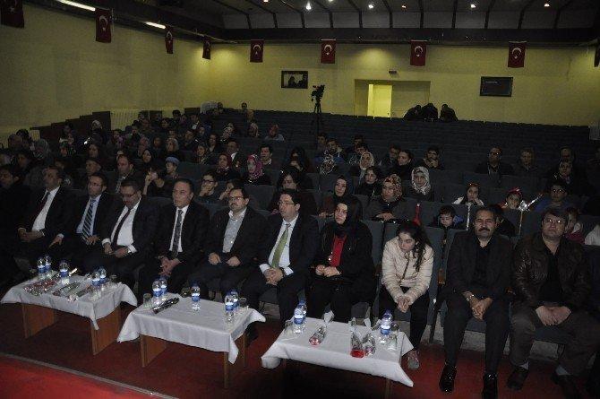 """Aksaray'da """"Şehit Vatan Demektir"""" Programı"""