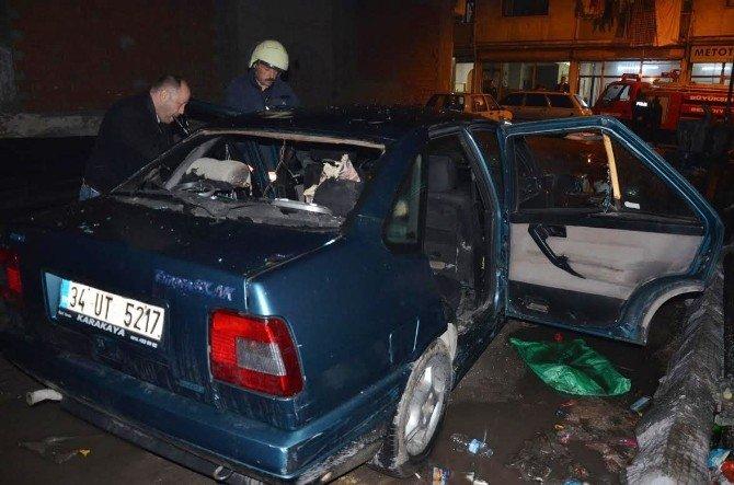 Ankara'da Otomobildeki Patlama Korkuttu