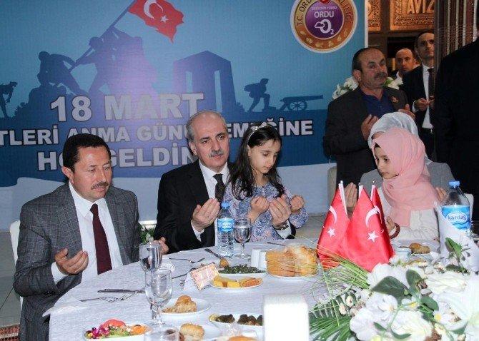 """Kurtulmuş: """"HDP Terörü Dil Ucuyla Değil Yürekten Lanetlemelidir"""""""