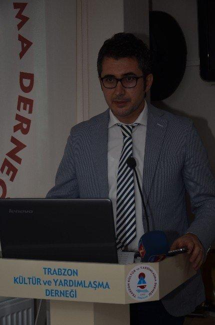Trabzon Kültür Ve Yardımlaşma Derneği M.akif Ve Çanakkale Konulu Konferans Düzenledi