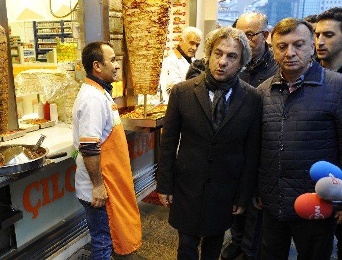 Başkan Demircan, Beyoğlu Esnafını Ziyaret Etti