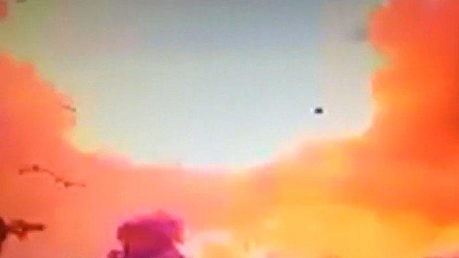 Patlamanın Dehşeti Kamerada