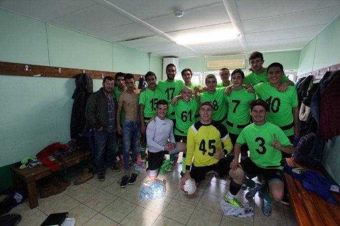 Bodrumspor U19 Takımı Avantaj Yakaladı