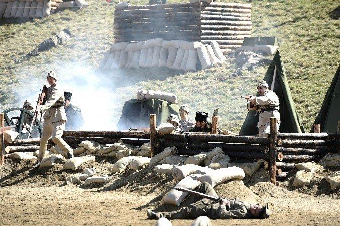 Çanakkale Savaşı Başkent'te Yeniden Yaşandı