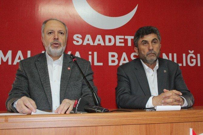 Saadet Partisi Malatya İl Divan Toplantısı