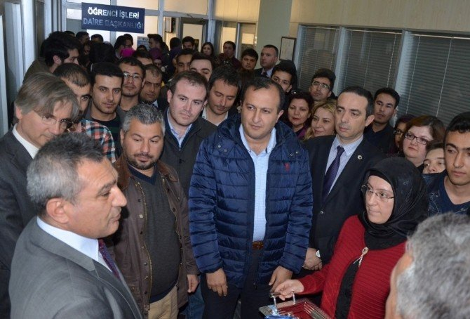 ÇOMÜ'de Uluslararası Öğrenci Ofisi Açıldı