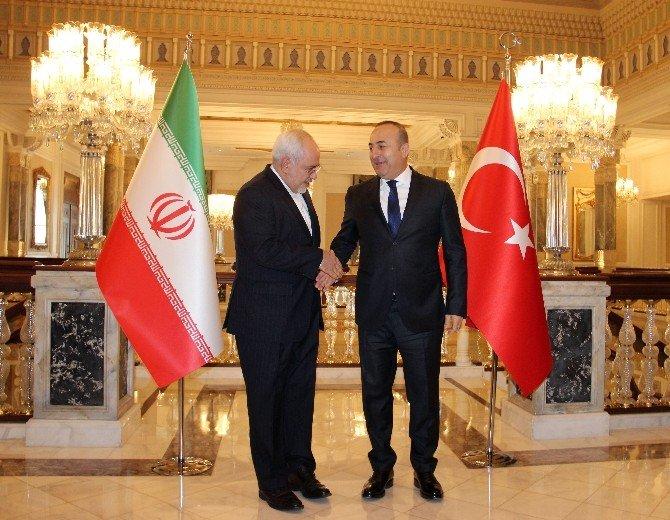 Dışişleri Bakanı Çavuşoğlu, İran Dışişleri Bakanı Zarif İle Bir Araya Geldi