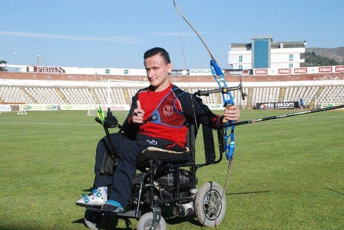 Bedensel Engelli Okçunun Hedefi Dünya Şampiyonluğu