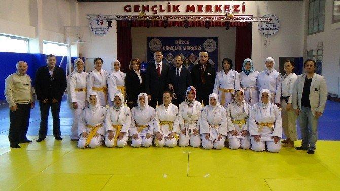Judocu Çocukların Judocu Anneleri