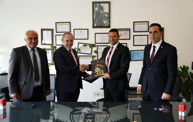 Gaü İle KKTC Karadeniz Kültür Derneği Arasında Protokol Anlaşması İmzalandı