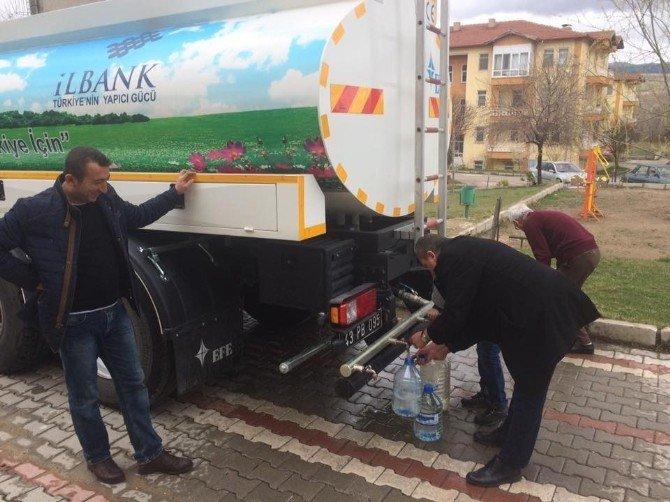 Hisarcık İçme Suyu Şebekesinde Arıza
